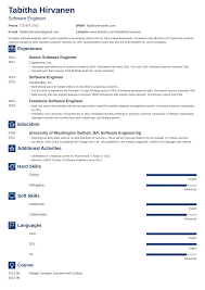 Best Software Engineer Resume 12 Entry Level Developer Sample