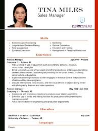 New Resume Formats Resume Sample