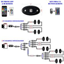 wiring diagram for rock lights wiring image wiring 3w rgb color change shadow reaper rock lights underglow on wiring diagram for rock lights