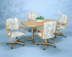dining room chairs with casters elegant dining room chairs with casters kitchen arms and wheels exciting
