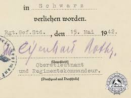 The Soldbuch Documents To Gunther Viezenz Record Holder Of The