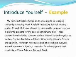 introduce yourself essay example example introduce yourself  introduce yourself essay language introduce yourself sample essay picture