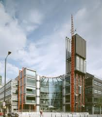 High tech modern architecture buildings Technological Channel Headquarters Horseferry Road London 1994 richard Rogers Partnership Janet Hall Riba Collections 123rfcom High Tech An Architectural Style Guide
