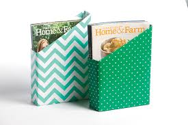 Cereal Box Magazine Holder DIY Cereal Box Magazine Holder 2