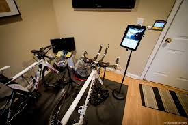 diy how i made a trainer bike computer ipad phone stand for 30
