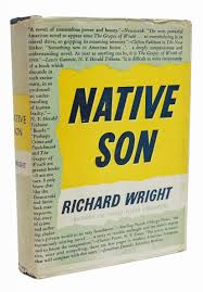 rare books from  richard wright acircmiddot native son harper and brothers 1940 harper brothers publishers new york 1940 first edition first printing