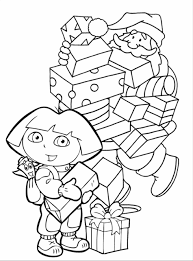 Small Picture Coloring Pages Kids Santa With Puppy Also Puppy Colouring