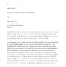 free sample complaint letter to landlord owner from tenant