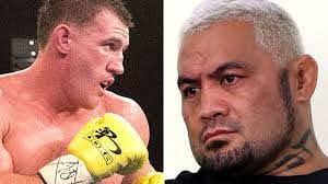 Paul Gallen vs Mark Hunt fight, boxing ...