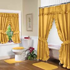 shower curtains with valance and tiebacks tie backs home ideas designs 14