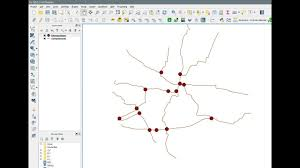 Qgis Line Intersections Create Point At Line Crossing Each