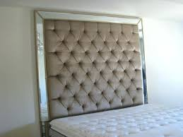 mirror headboard. diy mirror headboard white tufted large size exciting