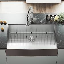 Vigo All In One 36 L X 22 W Farmhouse Kitchen Sink With Edison