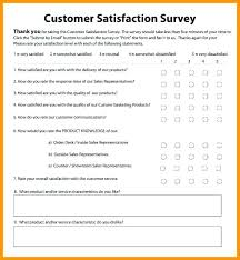 Customer Satisfaction Survey Template Excel 6 Customer Satisfaction Survey Template Excel Checklist Site