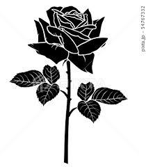 花を渡すのイラスト素材 Pixta