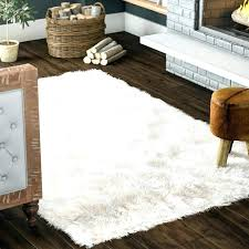 faux sheepskin rug 5x7 white faux sheepskin rug faux sheepskin off white area rug white faux