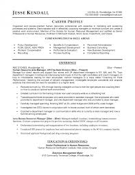 Human Resources Manager Resume Sample Cover Letter Beautiful Resumes