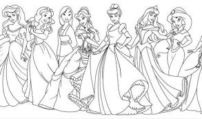 They can imagine that all their dreams come true and all the fairytales actually happened some time ago. All Disney Princess Coloring Page Baby Printable Free Frozen Jaimie Bleck