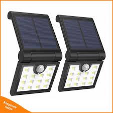 Folding Solar Light Hot Item Wireless Solar Folding Lamp Outdoor Led Motion Sensor Garden Security Light