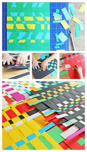 Art For Kids:Paper Weaving