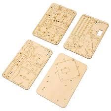Robotics <b>Robot Arm</b> Kit,Raspberry Pi SNAM1500 <b>4 DOF</b> Wood ...