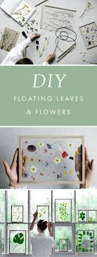 Outstanding nice DIY Gift Idea // Minimalist Framed Floating Leaves &  Flowers by www.dana-home-dec The post nice DIY Gift Idea // Minimalist  Framed ...