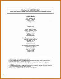 Resume Lovely Reference Page Template For Resume Reference Page
