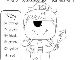 Small Picture 2nd Grade Coloring Pages Miakenasnet