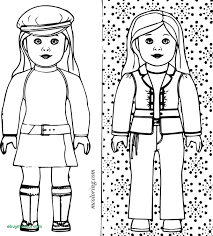 American Girl Doll Coloring Pages Printable Futuramame