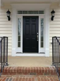 White Entry Door With Sidelights Beautiful White Front Door With
