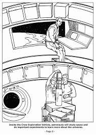 Kleurplaat 08 Astronauten Doen Belangrijke Experimenten Afb 4201