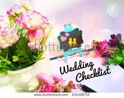 wedding checklist stock images, royalty free images & vectors Wedding Checklist Rainbow wedding checklist concept image with view of flowers, paper, pen and small notice board Printable Wedding Checklist
