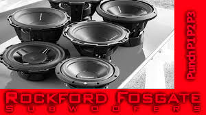 rockford fosgate p3 12 wiring diagram rockford rockford fosgate punch p1 p2 and p3 subwoofers video review on rockford fosgate p3 12 wiring
