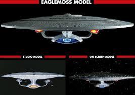 Uss Enterprise Light Up Model The Trek Collective Eaglemoss Build The Uss Enterprise D