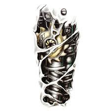 Kvalitní Dočasné Tetování Biomechanika Rukáv Aliexpress česky