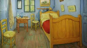 Vincent Van Goghs Bedroom In Arles Youtube