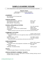 High School Resume Template Best Resume Templates For Students In
