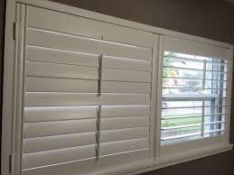 plantation shutters split tilt bar custom built in usa custom paint or stain