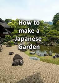 how to make a japanese garden an