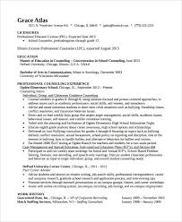 Sample Resume For School Counselor School Counselor Resume Best Of 9 Guidance Counselor Resume