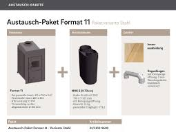 Olsberg Format 11 Mit Nachheizkasten Stahl Und Zubehör