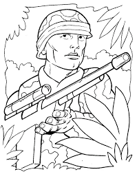 Lego Army Man Coloring Page Soldier Coloring Pages Army Coloring