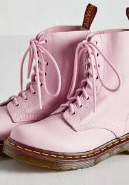 Light Pink Doc Martens Pin By Pate St Clair On Shoes Pink Shoes Pastel Pink Pink
