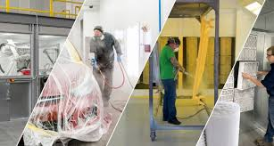 Downdraft Paint Booth Design Pdf Global Finishing Solutions Gfs Paint Booths Finishing