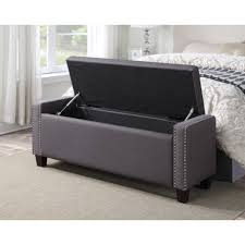 Grey Bedroom Bench Bed Benches With Storage Inspired Living Room ...