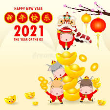 Happy new year wishes, messages, greetings and quotes to wish your friends and family all the best for 2021! Happy Chinese New Year 2021 Greeting Card Little Ox Holding Chinese Gold Year Sponsored Chinese New Year Card Happy New Years Eve Happy New Year Fireworks