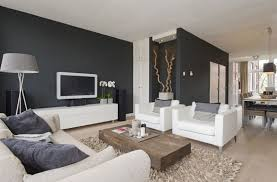rooms with white furniture. light fabric sofa with dark walls image credit from styleguidenl rooms white furniture a