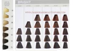 Goldwell Demi Permanent Hair Color Chart Goldwell Elumen Color Chart