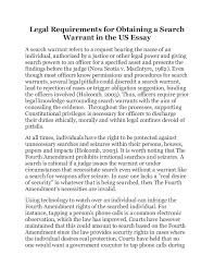 legal requirements for obtaining a search warrant in the us essay legal requirements for obtaining a search warrant in the us essay a search warrant refers to