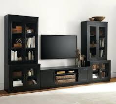 glass door tv stand stand media suite with glass door towers glass door wood tv stand